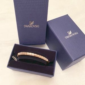 FINAL PRICE⚜️SWAROVSKI DOMINO Bangle Bracelet